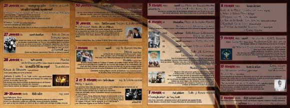 Programme LNR 2012 verso