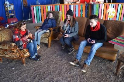 Ophélie, Enzo, Léa et Sylvain